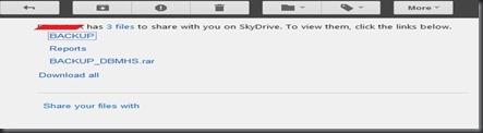 link invite skydrive